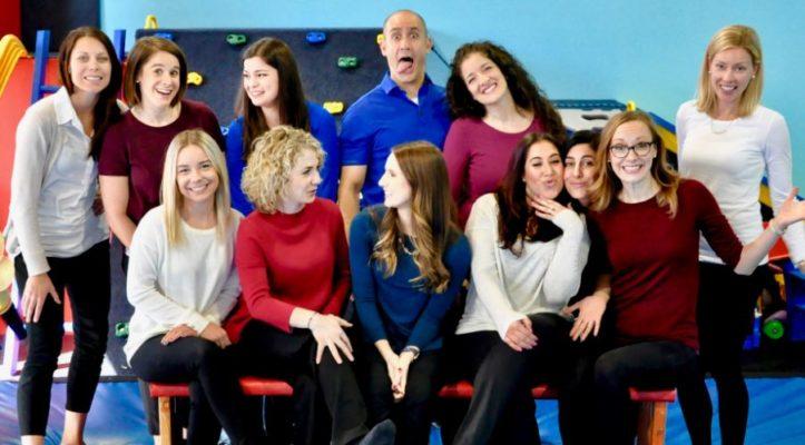 Chicago pediatric therapist, OT, ST, PT- Fun Pic