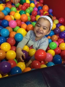 fun in the ball pit